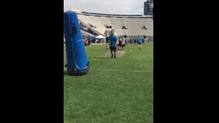 Zach Steadham byu football camp 2 graders