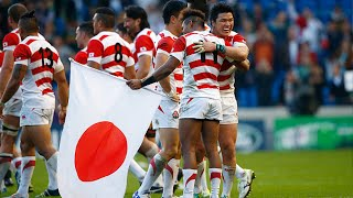 Japan's emotional celebrations after unbelievable win over South Africa! thumbnail