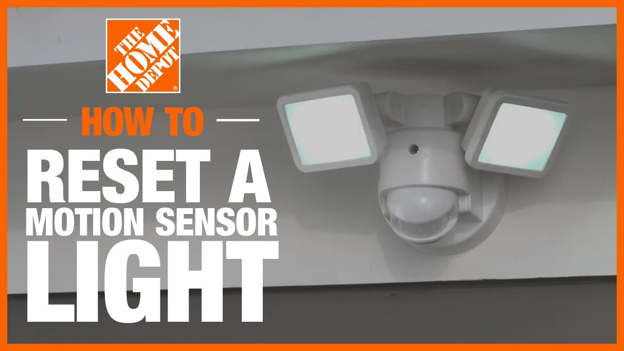 how to reset a motion sensor light lighting and ceiling fans the home depot