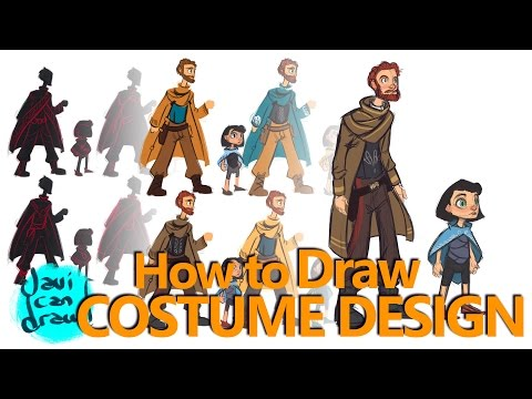COSTUME DESIGN BASICS - A Process Tutorial