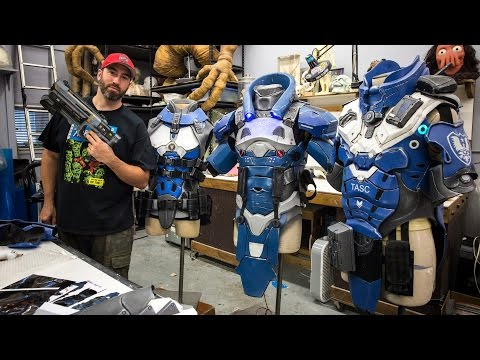 Making Sci-Fi Armor for a Video Game Trailer