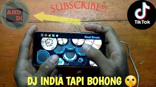 DJ INDIA TAPI BOHONG X BALE BALE REMIX | COVER REAL DRUM