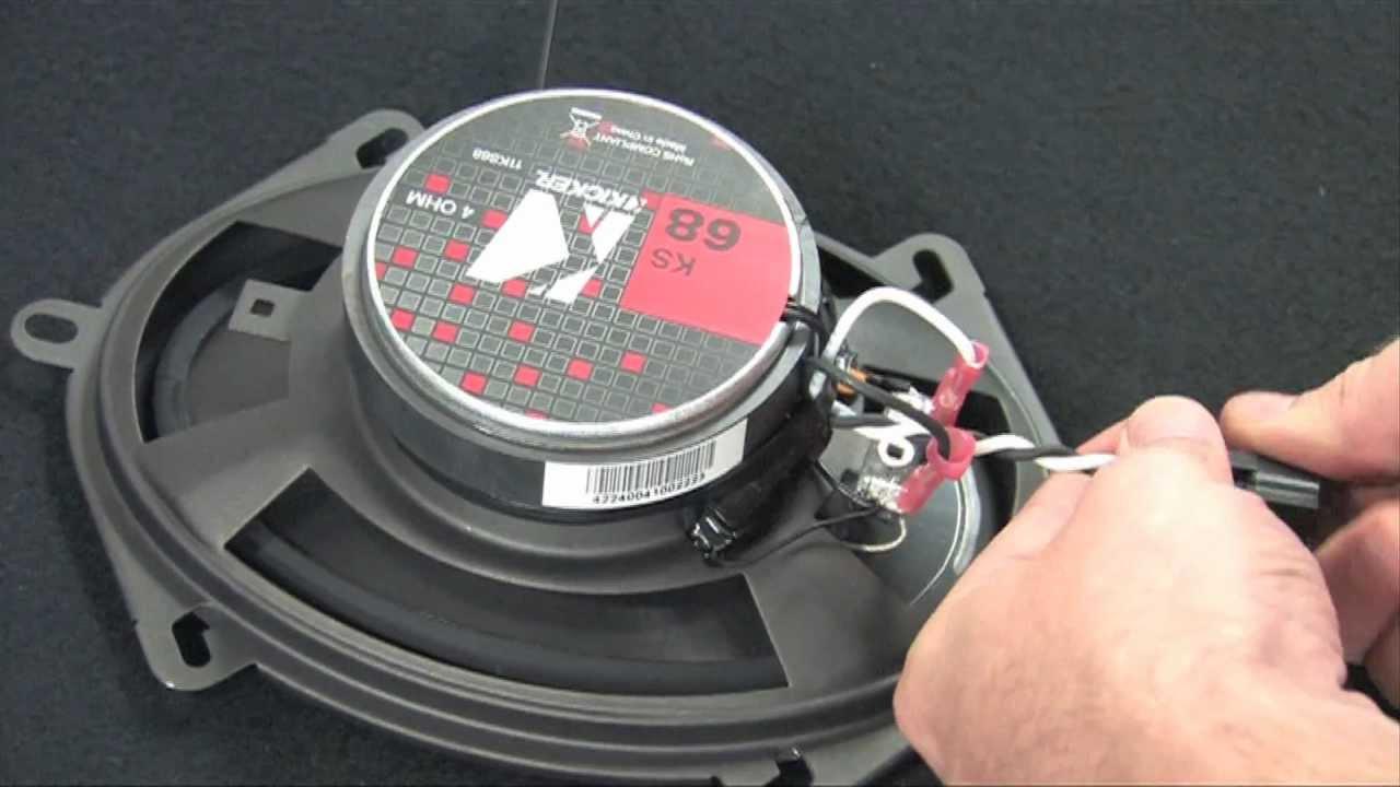 Installing Vehicle Door Speakers: Geek Squad Autotechs  YouTube