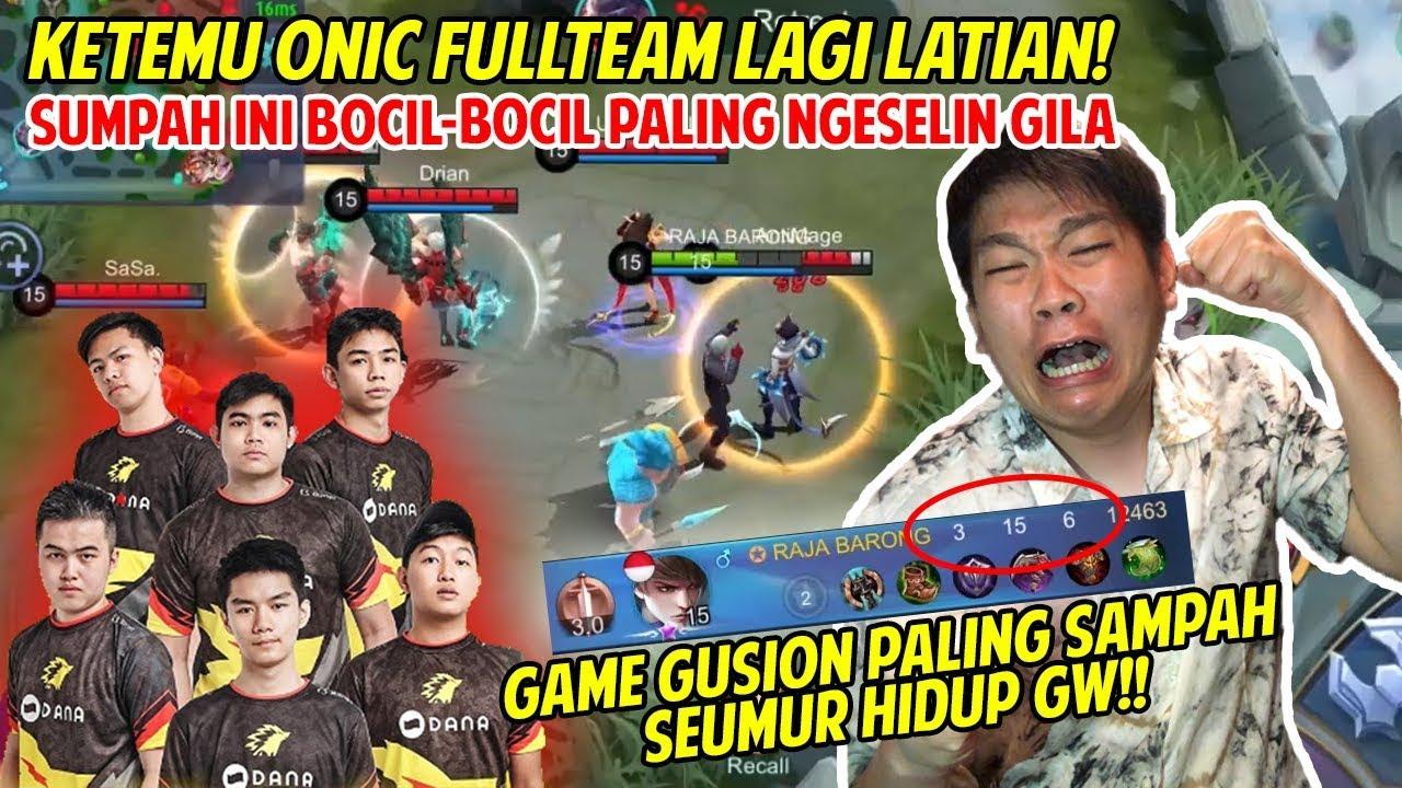 Download KETEMU FULL TEAM ONIC LAGI LATIHAN, MEREKA MALAH NGELAWAK COEG! - Mobile Legends