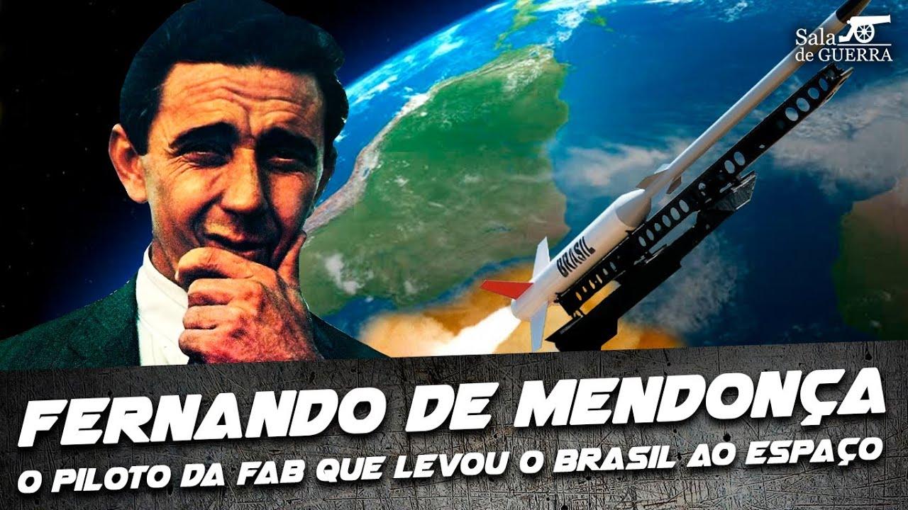 Fernando de Mendonça: o Piloto da FAB que levou o Brasil ao Espaço - DOC #66