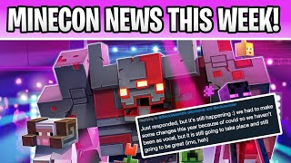 Minecon 2020 BIG NEWS THIS WEEK!!! 1.17 & 1.18 Live Event