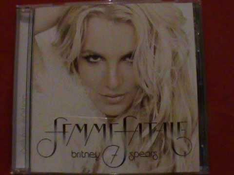 Britney Spears Femme Fatale digipack vs jewel case