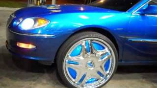 "Buick Lacrosse on 26"" Dub Cream Floaters"
