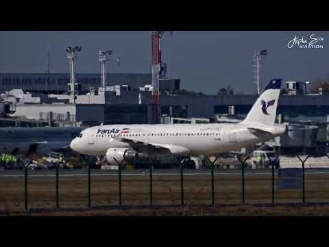 [INAUGURAL ARRIVAL] Iran Air Airbus A320 |EP-IFE| at Belgrade Airport