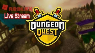 🔴 Live Stream: [ROBLOX]: Dungeon Quest: Drag levels to those who need!!!