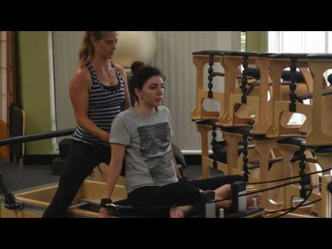 Pilates for Spinal Cord Injury - Aya A. C5/6 Incomplete SCI