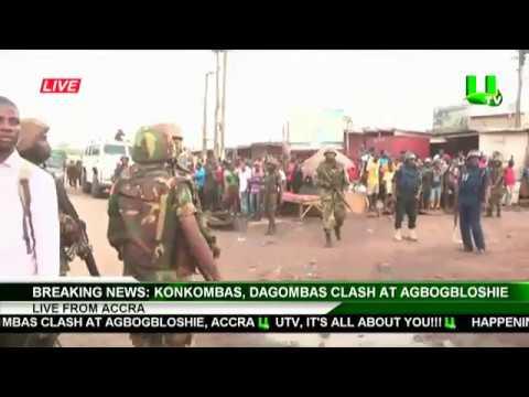 LIVE: Konkombas, Dagombas Clash at Agbogbloshie