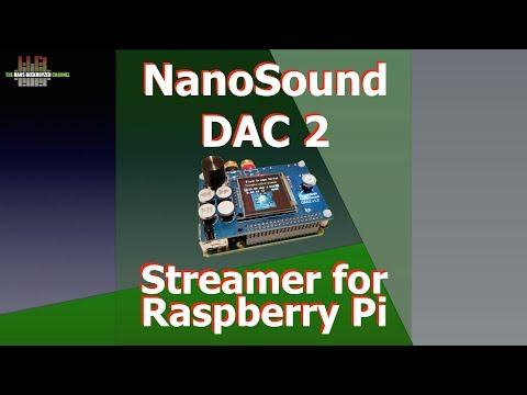 NanoMesher NanoSound DAC2 Pro Streamer