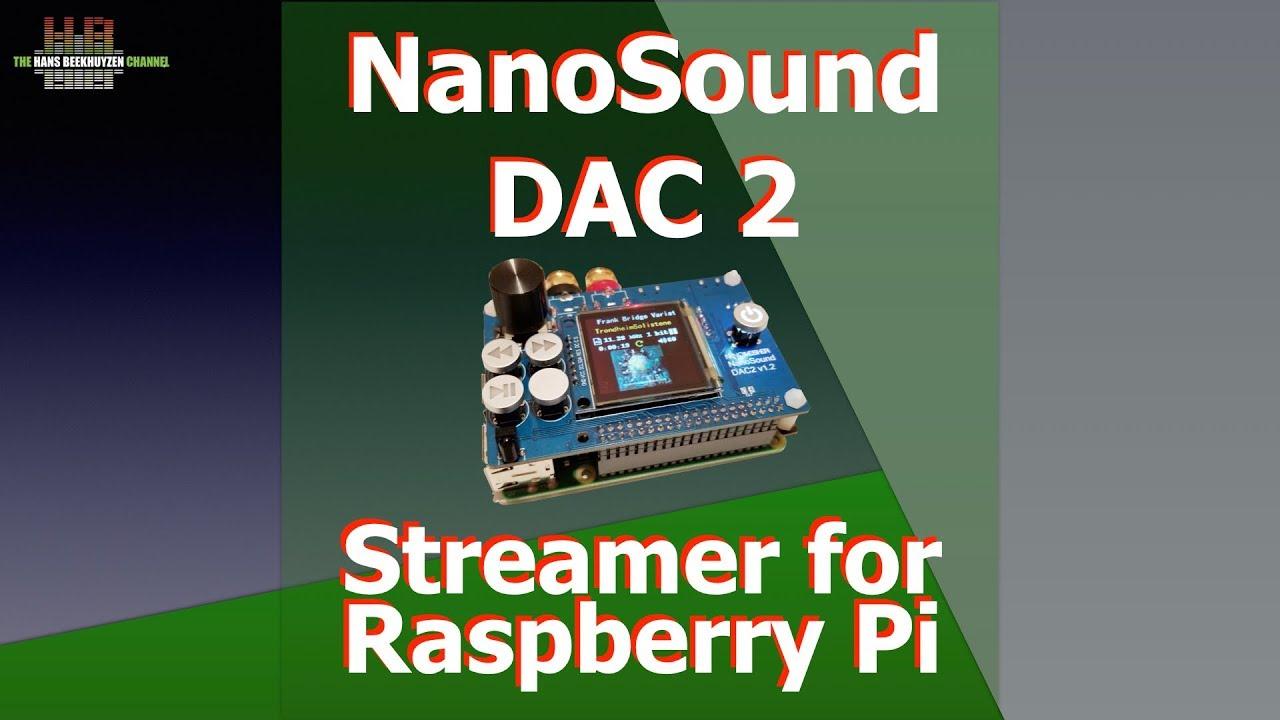 NanoMesher NanoSound DAC2 Pro streamer