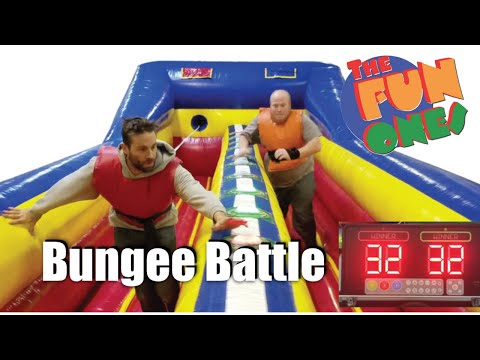 Party Rental Naperville, Chicago Bungee Battle