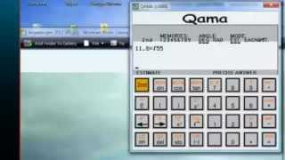 QAMA - The only calculator a student should ever use