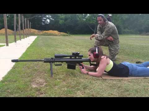 Barrett 50cal. With night force 8-32×56 nxs scope