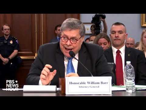 WATCH: Justice Department not making progress on immigration case backlog, Barr says