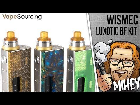 <b>WISMEC LUXOTIC</b> BF Kit with Tobhino RDA. Сквонк малыш, очень ...