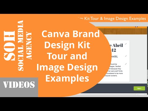 2015 Tutorial - Canva Brand Design Kit Tour and Image Design Examples