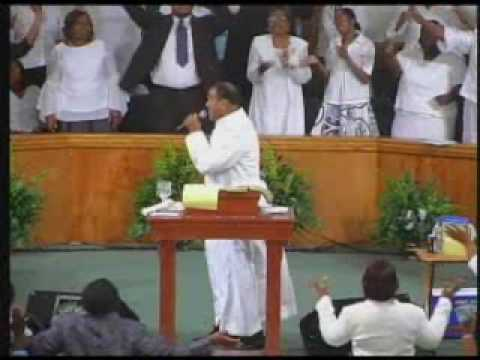 Church of God in Christ Thomasville Alabama, Pastor J.R. Allen