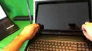 HP Pavilion dv7-7010US Laptop Screen Replacement Procedure