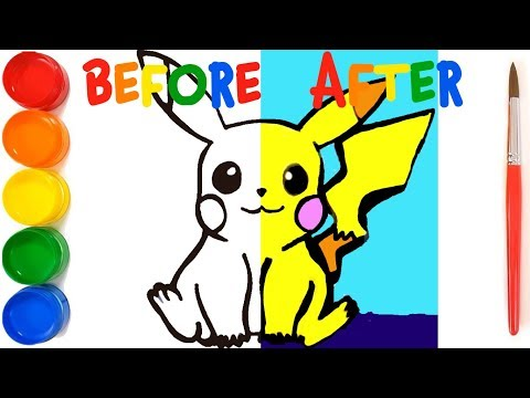 pokémon drawing and coloring - how to draw growlithe from pokemon | pokemon drawing and coloring