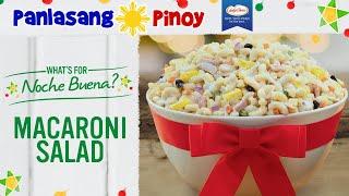 How to Make Classic Macaroni Salad