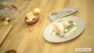 Rabbit In Egg Lemon Sauce