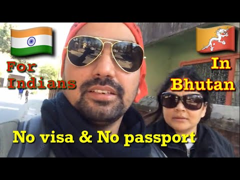 permission to travel in Bhutan for indian