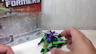 Acid Storm & Venin Transformers Generations Legends 2 Pack Toy Review