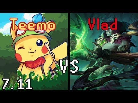 iPav's Teemo vs Vlad 7.11