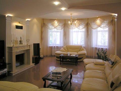 Дизайн зала в классическом стиле. Интерьер_комнаты.