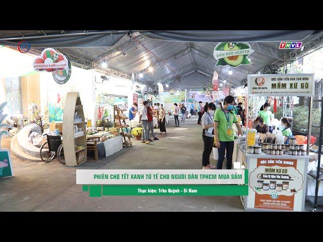 Phiên chợ xanh Tử tế cho người doanh nghiệp TP. HCM mua sắm