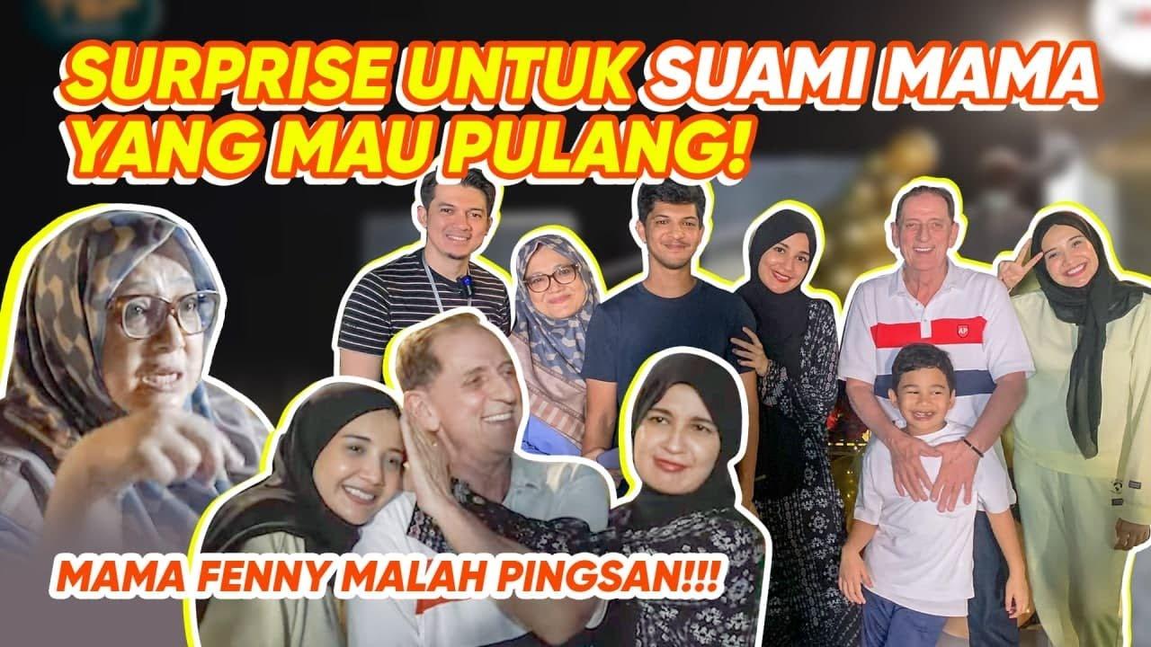 SURPRISE!!PAPA KHALEED TERHARU, MAMA FENY PINGSAN?