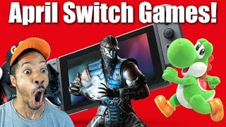 Upcoming Nintendo Switch Game Releases For April 2019
