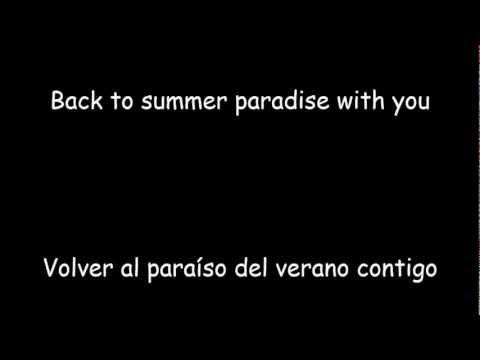 Simple Plan ft Knaan  Summer Paradise Inglés  Español