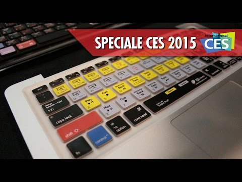 KB Covers    Copritastiere per Mac al CES 2015