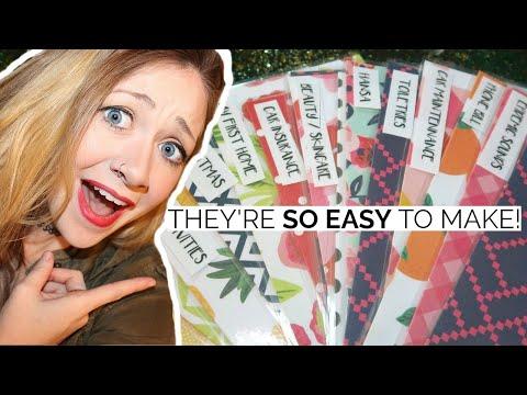 DIY CASH ENVELOPES | Laminated, Wallet, Safe | Dave Ramsey Budget