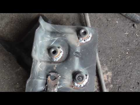 замена ремонтной площадки краба ваз 2108-2115