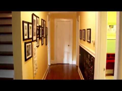Hallway Paint Colour Decorating Ideas Youtube