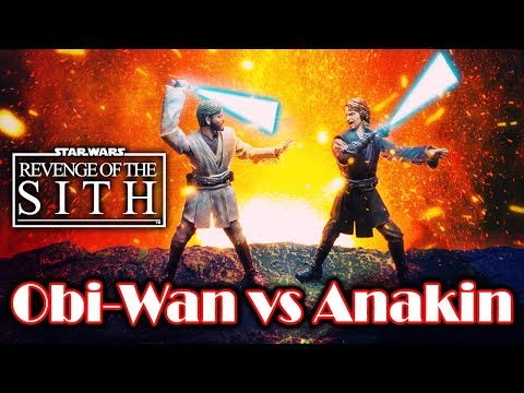 【PS Post Processing】Obi-Wan Vs Anakin Toy Photography