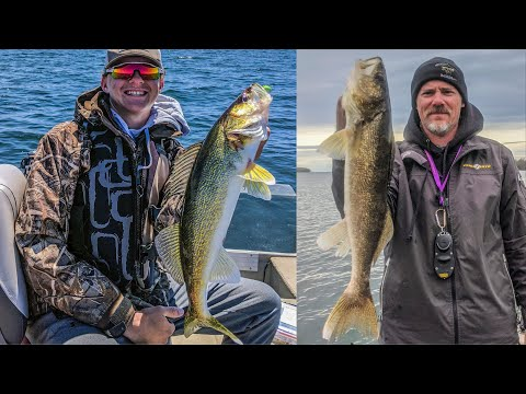 Casting Jigs And Minnows For Mille Lacs Walleyes!