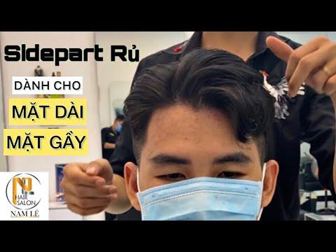 SIDEPART Uốn Phồng | Kiểu Tóc 7/3 Tóc Đẹp Cho Nam