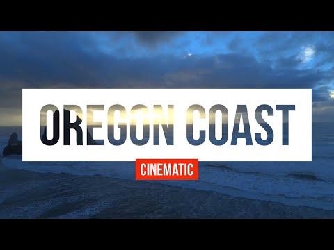 [4k] Oregon Coast - Haystack Rock, Cannon Beach - Autel X Star Premium
