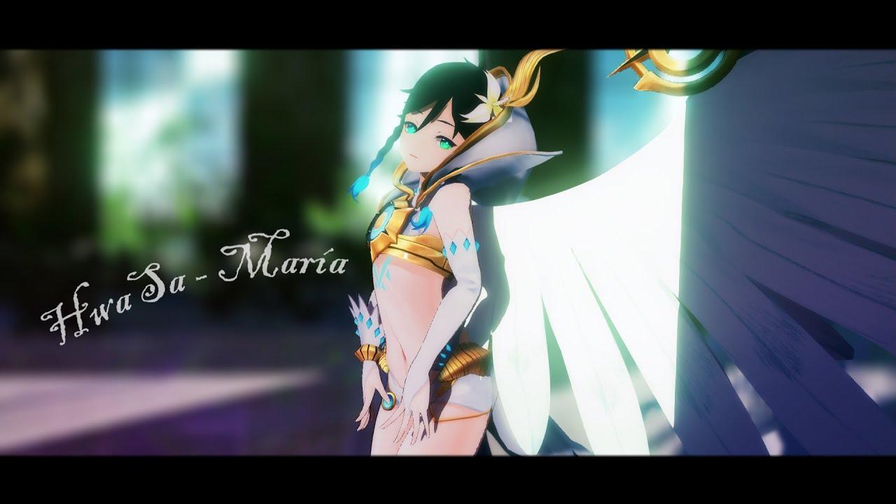 【MMDx原神】HwaSa - María ~溫迪神裝~