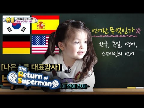 The Instructor of Na Eun School! She is a Genius! [The Return of Superman Ep 275]