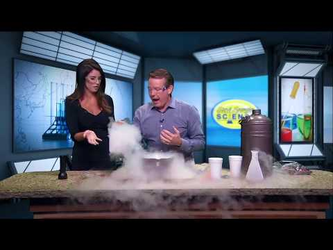 Spangler Science: Who gave Steve the liquid nitrogen?!