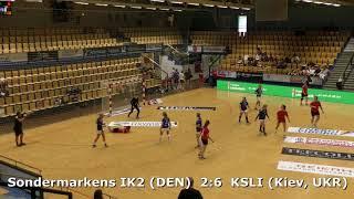 Handball. KSLI (Kiev, UKR) - Sondermarkens IK:2 (DEN). Viborg. U16G. Gr5. GENERATION HANDBALL-2018