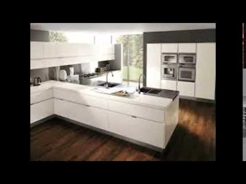 White Lacquer Kitchen Cabinets  YouTube